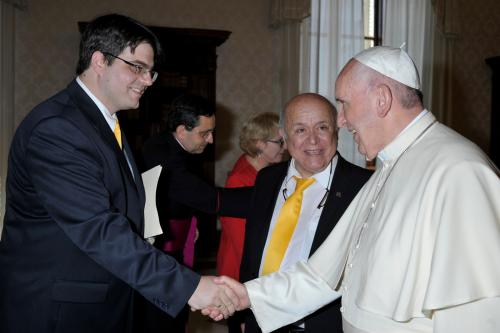 Gyuris Gellért, Pepe Prado, Ferenc pápa