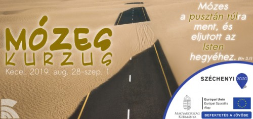 Mózes kurzus Kecel 2019; kép: (CC) The Lazy Artist: https://www.pexels.com/photo/bird-s-eye-view-photography-of-road-in-the-middle-of-desert-1201673/