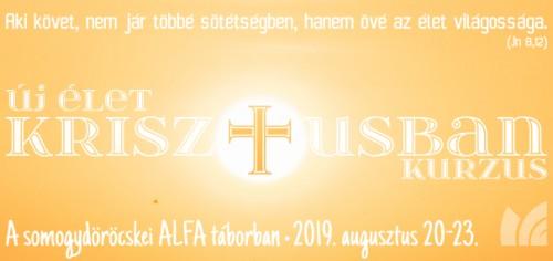 Új élet Krisztusban kurzus Somogydöröcskén 2019; Kép: (CC) https://www.pexels.com/photo/calm-water-with-sun-and-orange-sky-1631678/